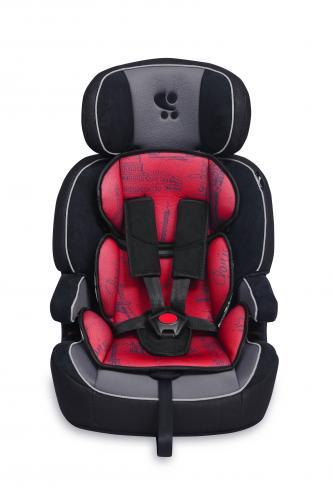 Scaun auto navigator - black & red cities - Scaune auto copii - Scaun auto 9-36 Kg