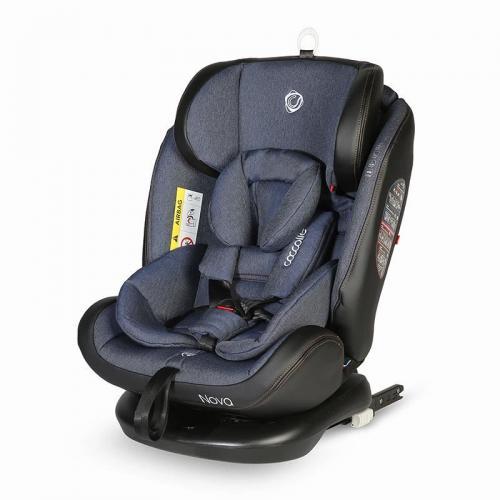 Scaun auto rotativ cu Isofix grupa 0-36 kg Nova Jeans - Scaune auto copii - Scune cu isofix