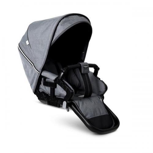Scaun carucior NXT Flat Lounge Eco Gri Emmaljunga - Carucior bebe - Accesorii carut