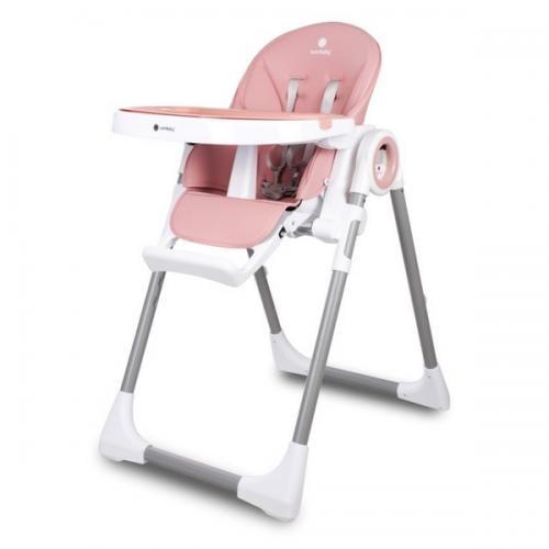 Scaun de masa sun baby 012 fidi pink - Hrana bebelusi - Scaun masa bebe