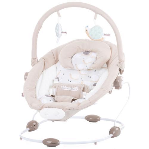 Scaunel balansoar Chipolino Siesta beige - Camera bebelusului - Leagane si balansoare