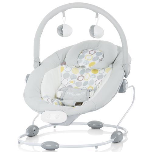 Scaunel balansoar Chipolino Siesta gray - Camera bebelusului - Leagane si balansoare
