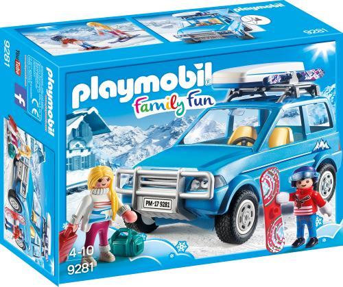Schiori Si Masina De Teren - Jucarii Playmobil -