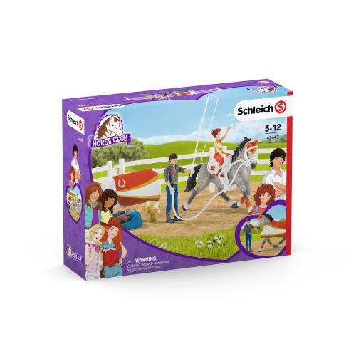 SCHLEICH Calarie pentru sarituri peste obstacole Horse Club al Miei - Jucarii copilasi - Figurine pop