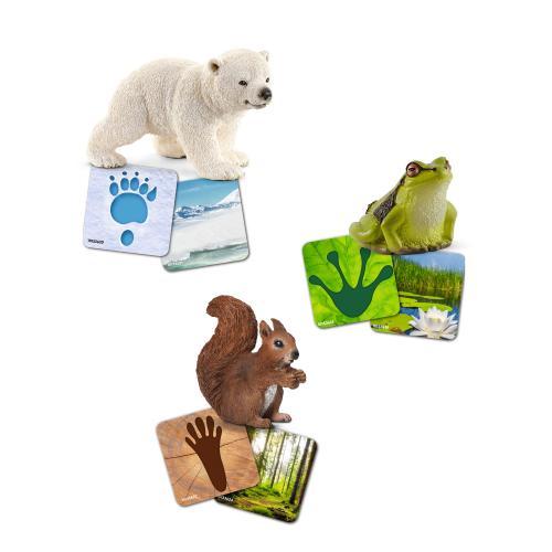 SCHLEICH Cartonase Educative Wild Life - Jucarii copilasi - Figurine pop