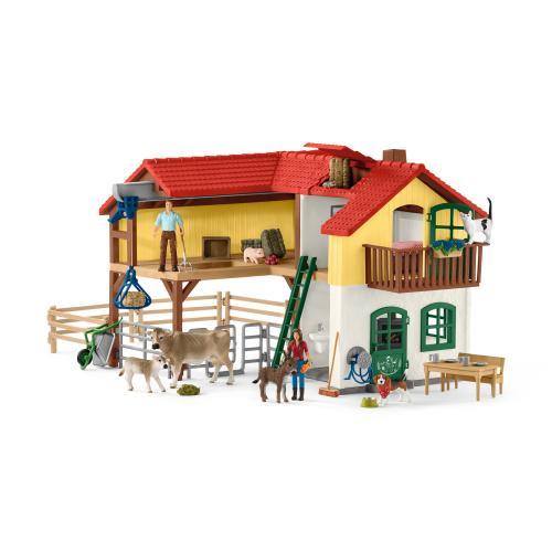 SCHLEICH Casa Taraneasca - Jucarii copilasi - Figurine pop