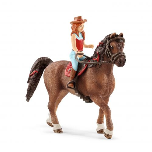 SCHLEICH Horse Club Hannah & Cayenne - Jucarii copilasi - Figurine pop