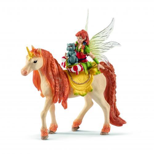 SCHLEICH Marween cu Unicornul ei stralucitor - Jucarii copilasi - Figurine pop