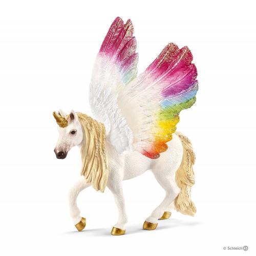 SCHLEICH Unicorn Curcubeu Inaripat - Jucarii copilasi - Figurine pop