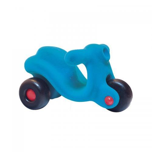 Scooter din cauciuc natural - turcoaz - 1an + Rubbabu - Jucarii copilasi - Avioane jucarie