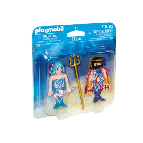 Set 2 Figurine - Rege Si Sirena - Jucarii copilasi - Figurine pop