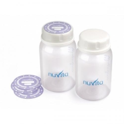 Set 2 Recipiente Colectare Lapte - Bpa 0 % - Hrana bebelusi - Biberoane
