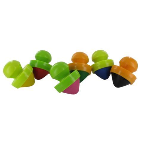Set 6 creioane cu suport ergonomic pentru incepatori - Jucarii copilasi - Arta indemanare