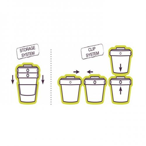 Set 6 recipiente hrana 2x60ml -4x120ml roz - Hrana bebelusi - Accesorii alimentare