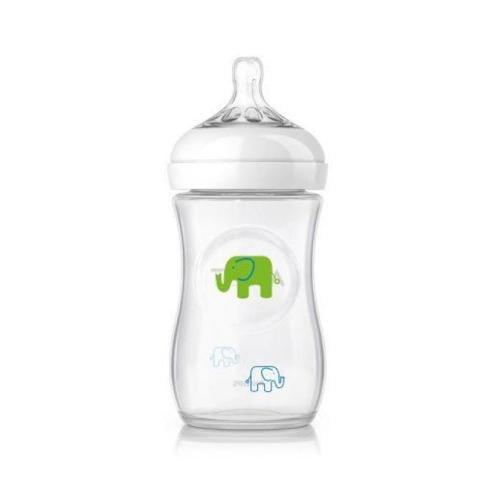 Set cadou cu elefanti pentru baieti Philips Avent SCD627/01 - Hrana bebelusi - Suzeta bebe