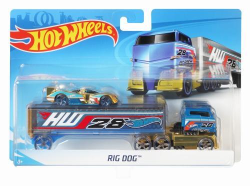 Set camion si masina sport hot wheels rog dog - Jucarii copilasi - Avioane jucarie