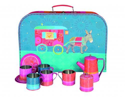 Set ceai in valiza - egmont - Jucarii copilasi -
