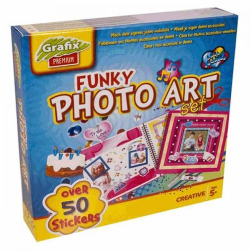 Set creatie album foto - Grafix - Jucarii copilasi - Arta indemanare