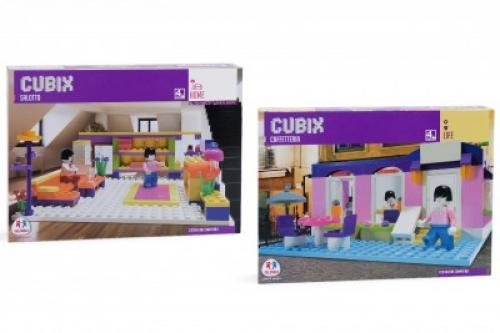 Set Cubix Constructie Cafenea Sau Living - Jucarii copilasi - Jucarii de constructie