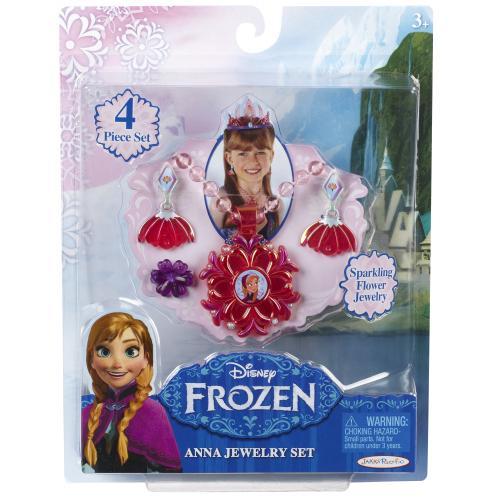 Set de bijuterii Frozen - Anna - Jucarii copilasi -