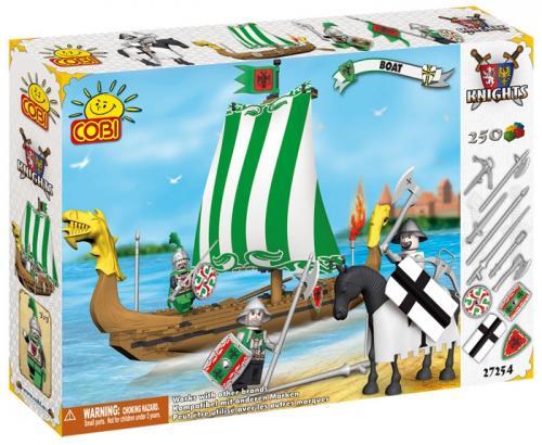 Set de construit Barca - Cobi - Jucarii copilasi - Jucarii de constructie