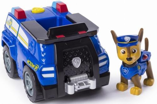 Set de joaca chase si masina de politie patrula catelusilor - Jucarii copilasi - Figurine pop