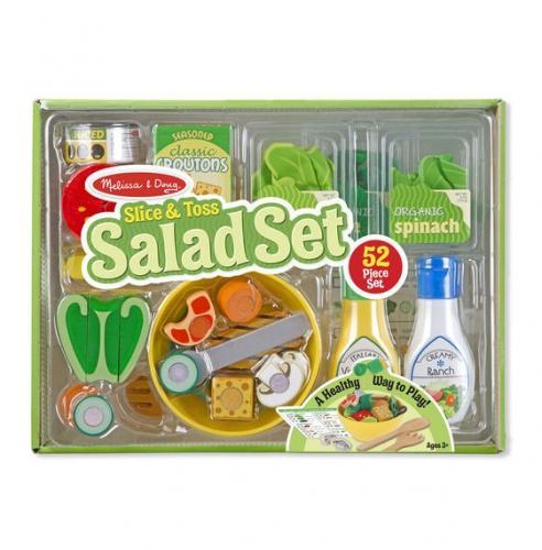Set de joaca din lemn Salate delicioase Melissa and Doug - Jucarii copilasi -