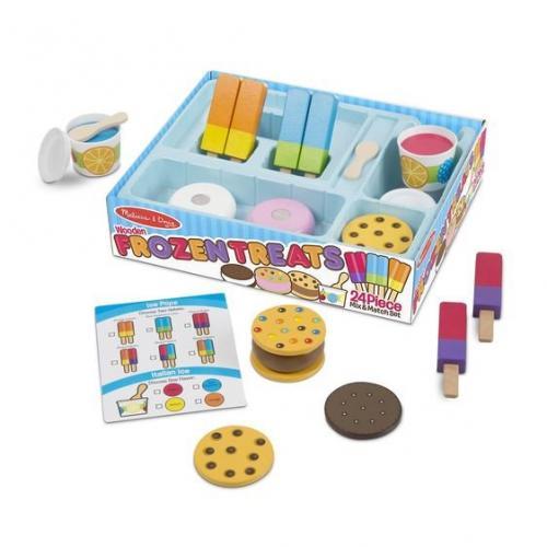 Set de joaca Inghetate delicioase - Melissa & Doug - Jucarii copilasi -