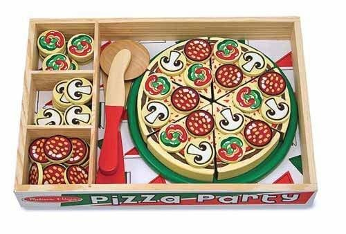 Set De Joaca Pizza Party Melissa And Doug - Jucarii copilasi - Jucarii educative bebe