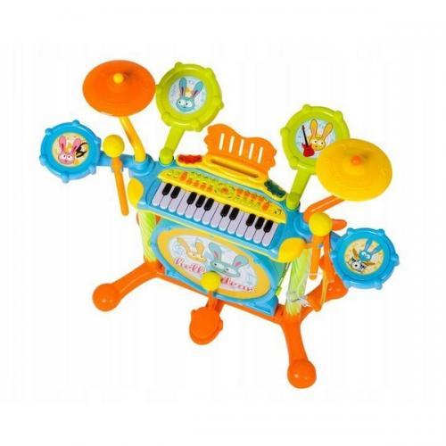 Set de tobe bb397 ecotoys - Jucarii bebelusi - Jucarie muzicala