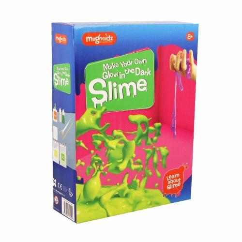 Set experimente - Glow Slime - Jucarii copilasi - Jucarii educative bebe