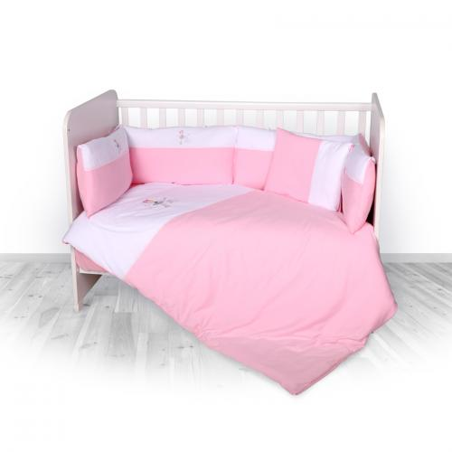 Set jersey zaza - pink - Camera bebelusului - Lenjerii patut