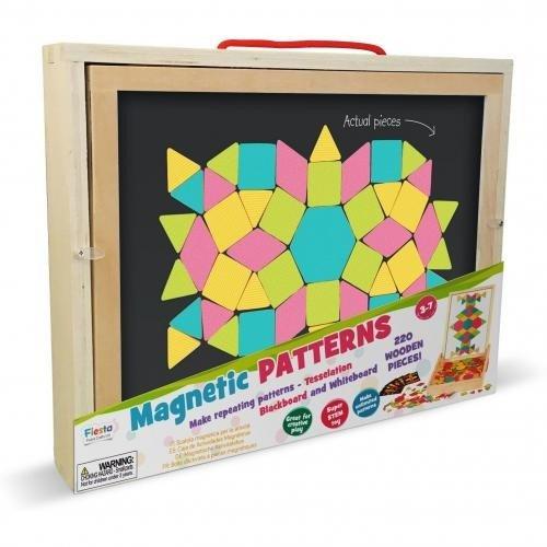 Set magnetic cu forme geometrice Fiesta Crafts FCT-2927 - Jucarii copilasi - Jucarii educative bebe