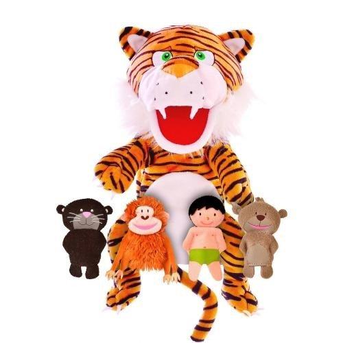 Set Marionete Cartea Junglei Fiesta Crafts FCT-2806 - Papusi ieftine -