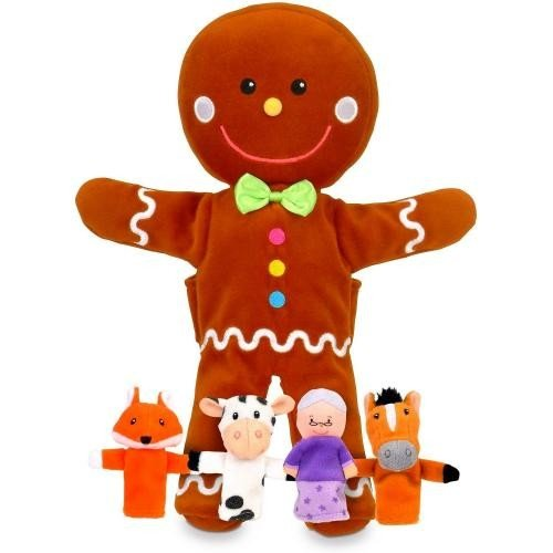 Set Marionete Omul de turta dulce Fiesta Crafts FCT-2734 - Papusi ieftine -