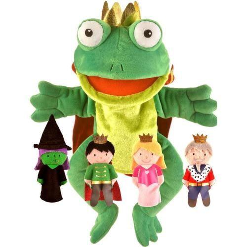 Set Marionete Printul Broscoi Fiesta Crafts FCT-2784 - Papusi ieftine -