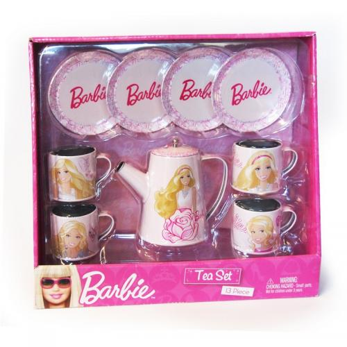 Set Metalic Ceai Barbie Faro - Jucarii copilasi -