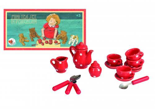 Set miniaturi din portelan - ceai cu egmont - Jucarii copilasi -