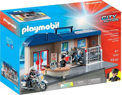 Set Mobil Statie De Politie - Jucarii Playmobil -