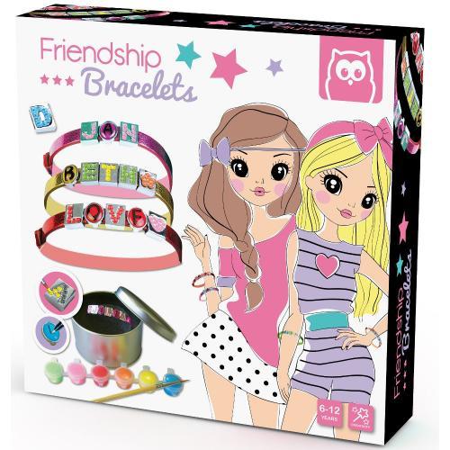Set pentru a crea bratarile prieteniei - Jucarii copilasi - Toys creative