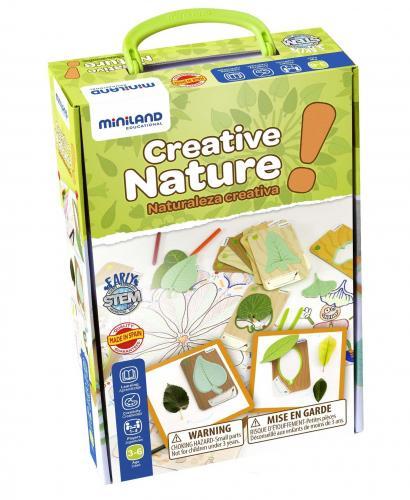 Set pentru creatie Natura - Miniland - Jucarii copilasi - Jucarii educative bebe