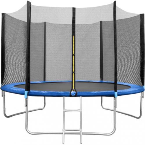 Set Trambulina 305 cm cu plasa si scarita In One IO0029 - Jucarii exterior - Trambuline