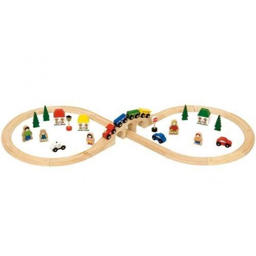 Set Tren Cu Cale Ferata Circulara - Jucarii copilasi - Jucarii educative bebe