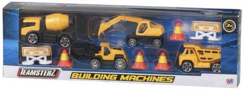 Set vehicule constructii cu accesorii - Jucarii copilasi - Jucarii de constructie