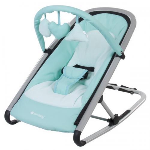 Sezlong sun baby komfi mint - Camera bebelusului - Leagane si balansoare