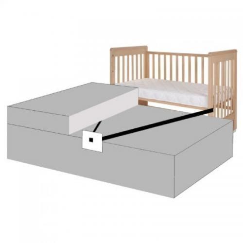 Sistem de prindere pentru patut co-sleeper Treppy - Camera bebelusului - Patut copii
