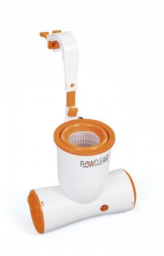 Skimmer cu pompa recirculare bestway flowclear skimatic™ 3974 l/h 58469 - Jucarii exterior - Piscine