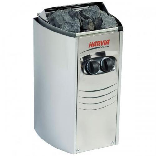 Soba sauna harvia vega compact bc35 inox - 3 -5kw - cu comanda incorporata - Jucarii exterior - Piscine