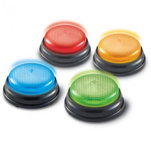 Sonerii Cu Lumini Si Sunete Pentru Raspuns - Set 4 Buc - Rechizite - Materiale didactice