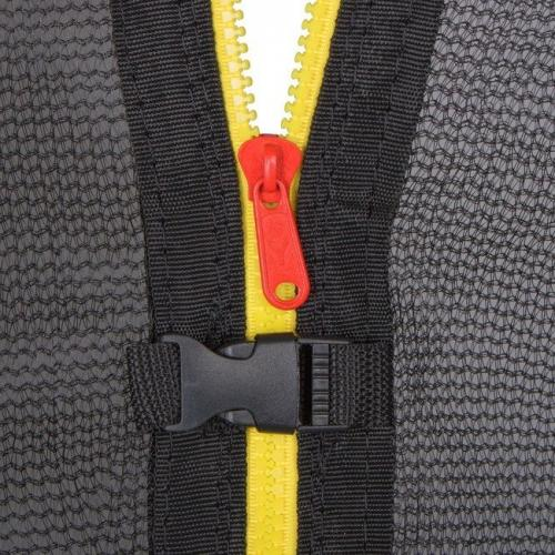 Springos - Plasa siguranta pentru trambulina 244 cm cu 6 stalpi exterior - Jucarii exterior - Trambuline
